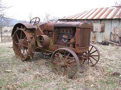 Old McCormick Deering Tractor by dbro1206, via Flickr
