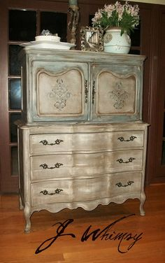 Lovely French Country High Chest