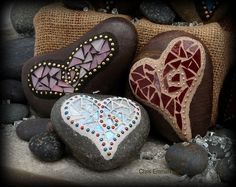 Mosaic Hearts by sophie