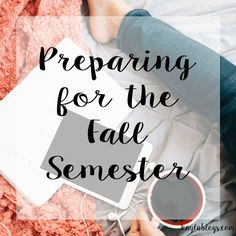 How to prepare for the fall semester - whether you are a first time college student or a returning one, this post has great college tips for preparing for the semester ahead. college student tips #college #student