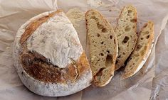 Dan Lepard's sourdough: Practice makes perfect. Photograph: Colin Campbell for the Guardian