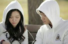 Lee Da In and Gikwang from B2st for 20 Years Old