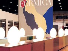 KBIS, 2003 Formica Corporation trade show booth
