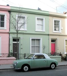 Need this car.  Nissan Figaro