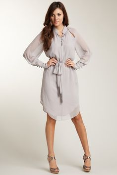 1. I can NEVER get enough Vince Camuto. 2. This dress brings the shirt dress to a whole 'nother level