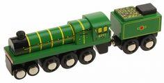 Green Arrow toy train