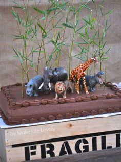 Jungle Safari Birthday Party (Part 2)