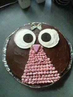 Violet's cake. Age 2.