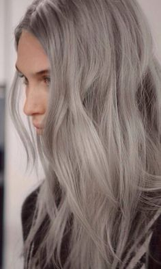 Colour Inspiration. #prohairbeauty #greyhair