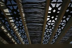 A detail of the willow shade structure. Garden Shade, Shade Structure, Shades, Patio, Detail, House, Design, Home