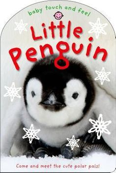 This perfect holiday board book for babies and toddlers features snowy photographs of little penguin and his festive baby animal friends. Touch-and-feel textures help develop children's sensory awareness, and the gentle rhymes are ideal for adults and children to read and share together.