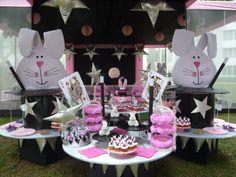 girly magic party by dekokids