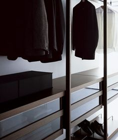 shelving in closet