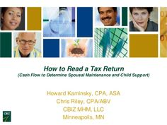 how-to-read-a-tax-return by CBIZ, Inc. via Slideshare