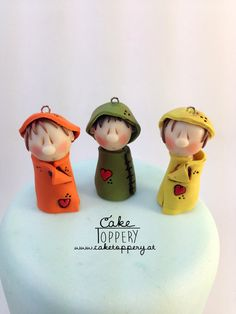 polymer clay gnomes Gnomes, Polymer Clay, Modeling Dough