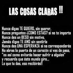 Las cosas claras ☼Teresa Restegui http://www.pinterest.com/teretegui/☼
