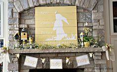 15 Bunny Silhouette Crafts for Easter @Vanessa Samurio Mayhew & CraftGossip