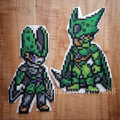 Cell DBZ perler beads by tarawashere88