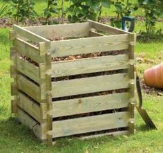 Wood composter - perfect