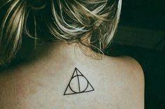 Tattoo Harry Potter Deadly Hallows/ Harry Potter y Las Reliquias de La Muerte