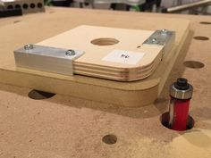 This jig creates PERFECT corner radius routing templates with EFFORTLESS precision! Way more accurate than free-handing on a bandsaw. Get the PLANS! – http:/...