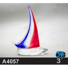 Blown Glass Irregular Shape-A4057