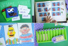 Sesame Street Ideas and Crafts