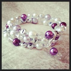 Your place to buy and sell all things handmade Jewelry Shop, Jewelry Ideas, Diy Jewelry, Faceted Glass, Glass Beads, Grey Glass, Beaded Bracelets, Free Shipping, Pearls