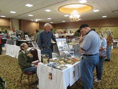 Dick Camp, author of Assault from the Sky, at Military History Weekend 2013.