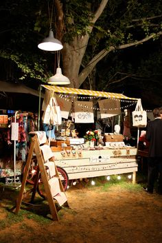 Great booth at night! CLick through for more photos