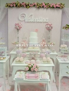 SHABBY CHIC Birthday Party Ideas | Photo 7 of 13