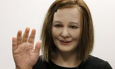 Nadine, the humanoid robot personal care assistant.