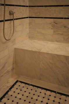 Lincoln Park Master Bathroom -- Habitar Design