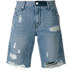 25ac5975858d Rta distressed denim shorts ( 273) ❤ liked on Polyvore featuring men s  fashion
