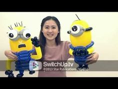 ▶ Get Personal with Balloon Artist Kelly Sashimi - YouTube