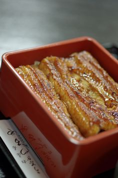 Japanese Food Unaju, Kabayaki-Grilled Unagi Eel Over Rice|うな重