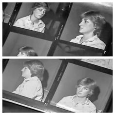 """""""With wax royals in the news, after many,many years l've finally tracked down some screen grabs of Lady Diana's 1981 sitting. Princess Diana Rare, Princess Diana Pictures, Royal Princess, Princess Of Wales, Spencer Family, Lady Diana Spencer, Wax Statue, Charles And Diana, Before Marriage"""