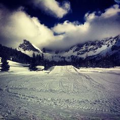 "@priskyes's photo: ""#neve #snow #sci #pozzadifassa #baita #malgha #mountain #montagna"" @Val di Fassa #fassaski14 #dolomiti"