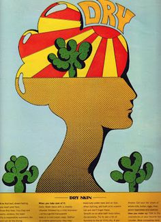 Little Verses: Milton Glaser for Seventeen Magazine