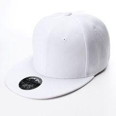 Women Retro Vintage Plain Snap Back Hats Flat Peak Caps Funky Cool Baseball  Hat 63f2dbd25bc5