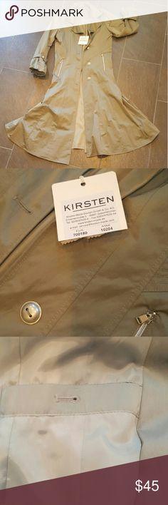 Kirsten Mode Design long rain jacket Long rain jacket from Germain fashion designer Kirsten Mode Design Gmbh & Co Jackets & Coats Trench Coats