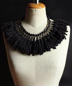 style-diaries: tshirt yarn & hardwarestore jewelry