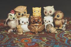 owl collection I have some of these.