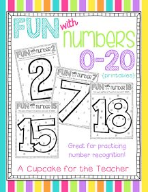 Great for number recognition!