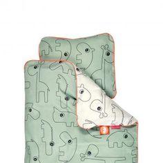 Contour grønt BABY sengetøj fra Done bydeer 299.-