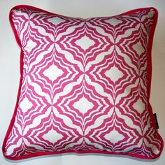 Moroccan Cushion Pink - Katz Designer Textiles