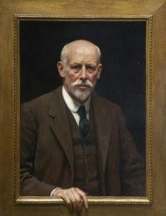 Self Portrait by John Collier (early 1900s) Plymouth City Museum and Art Gallery, Plymouth, England