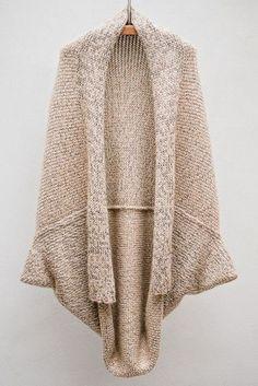 Rosa acessórios em tricô & crochê: Casaco tricot