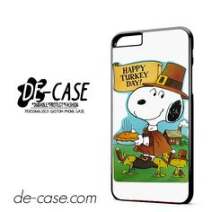 Snoopy Happy Turkey Day DEAL-9759 Apple Phonecase Cover For Iphone 6/ 6S Plus
