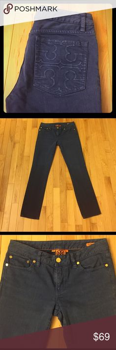 """Tory Burch Super Skinny Jeans Size 27 These are Tory Burch super skinny jeans size 27. They are in excellent pre-owned condition. Inseam is 28"""". Perfect pair of jeans for spring season! Tory Burch Jeans Skinny"""